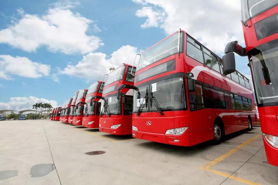 kinglong bus in kowait