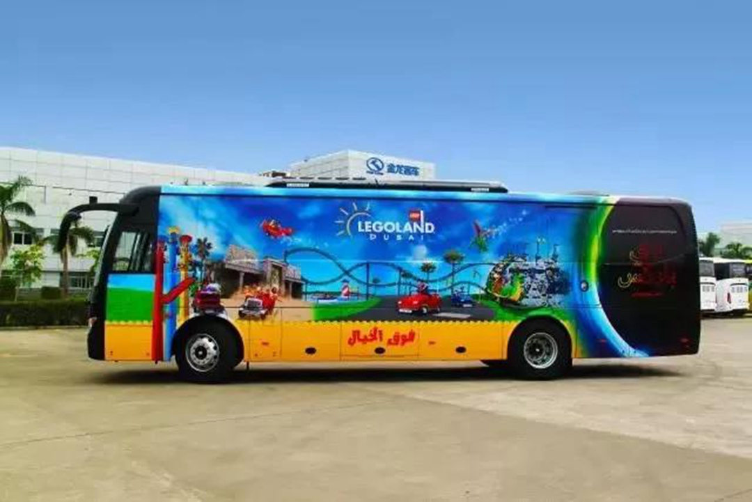 kinglong bus in United Arab Emirates