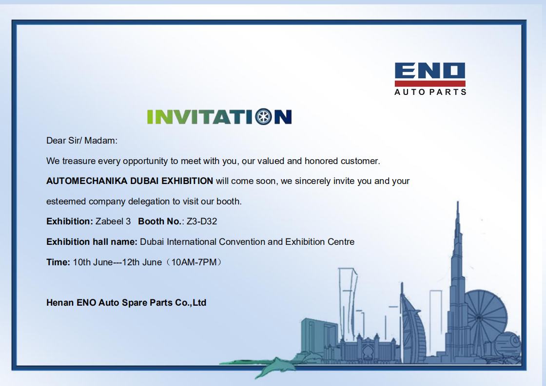 Auto Mechanika Dubai 2019 Exhibition