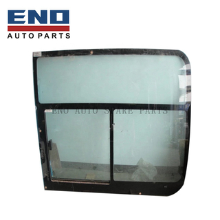 Bus body parts side window glass for Chinese Bus