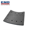 Kinglong bus brake lining